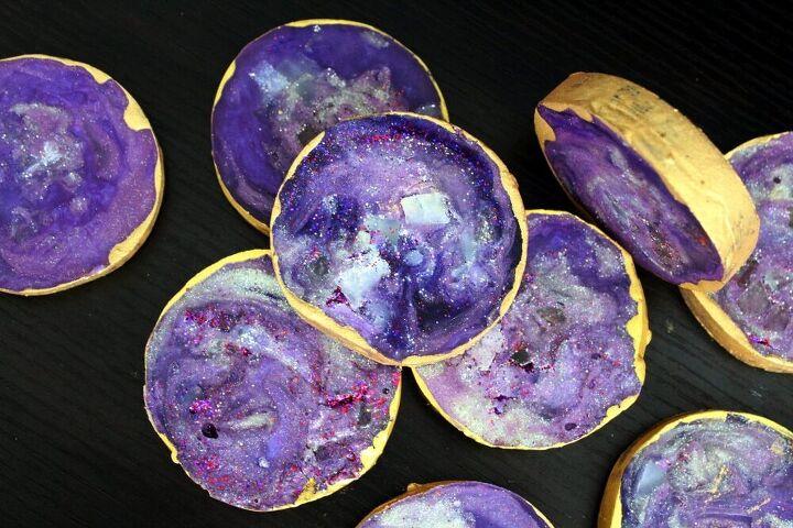 diy agate slice soaps that anyone can make