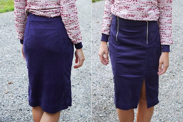 how to sew pencil skirt to the city classic version woven fabrics, tHE PATTERN FOR WOMEN S PENCIL SKIRT TO THE CITY
