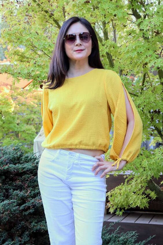 pattern review sade blouse by named clothing
