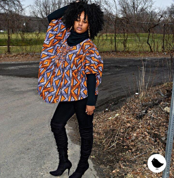 diy blouse using ankara and lace fabrics mccall s 6962 pattern hack