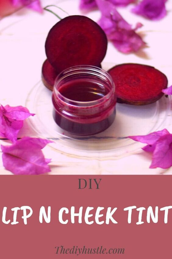 diy lip and cheek tint diy lip balm beetroot lip stain thediyhustle, DIY Lip and Cheek Tint