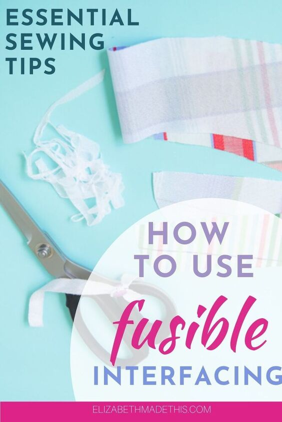 how to use fusible interfacing how block fusing will keep you sane