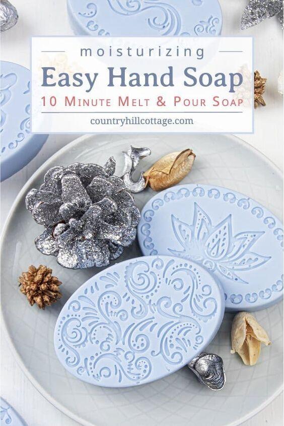 diy moisturizing soap for dry skin