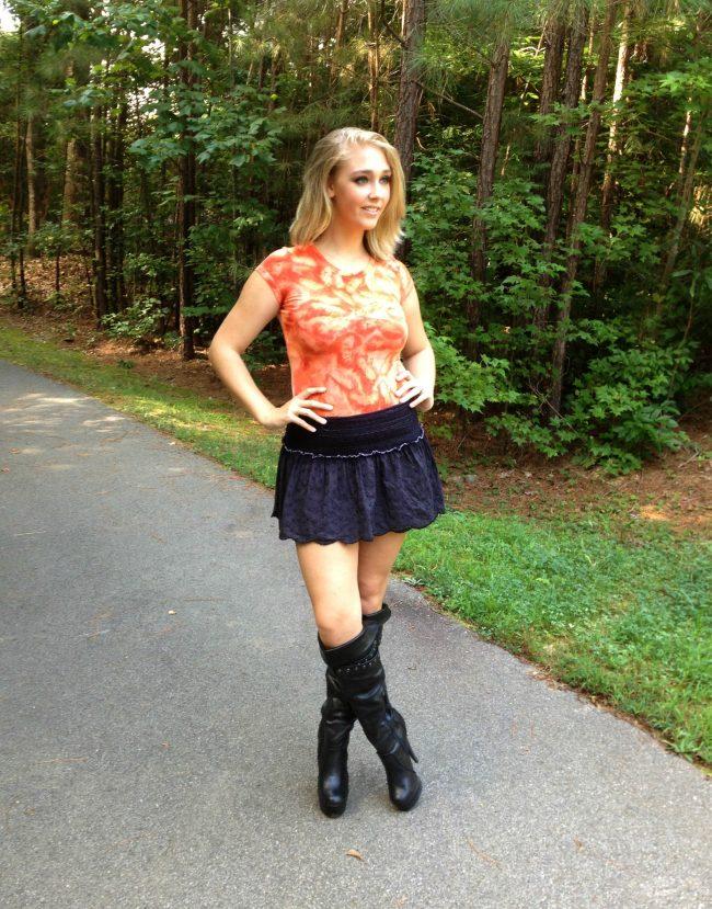 ice dye an orange t shirt for halloween
