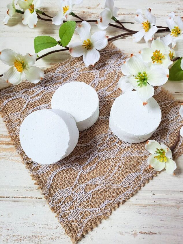 diy shower steamers for clarity