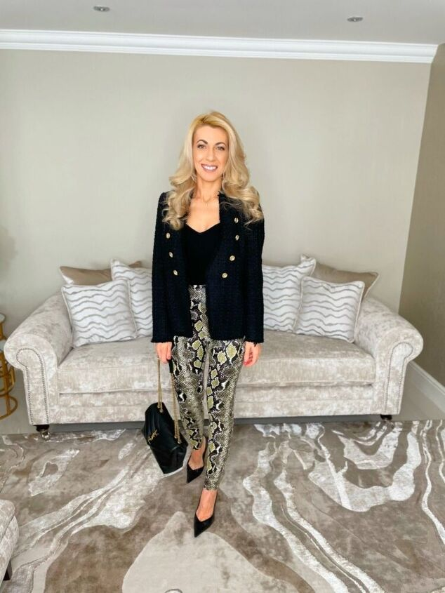 bold print, Going out outfit