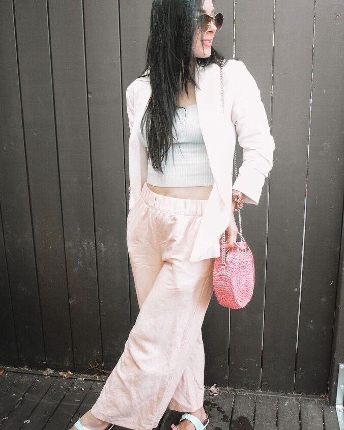 how i style my fav summer linen crop pants