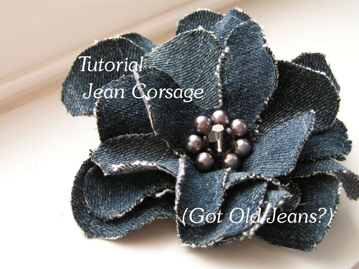 tutorial jean corsage got old jeans