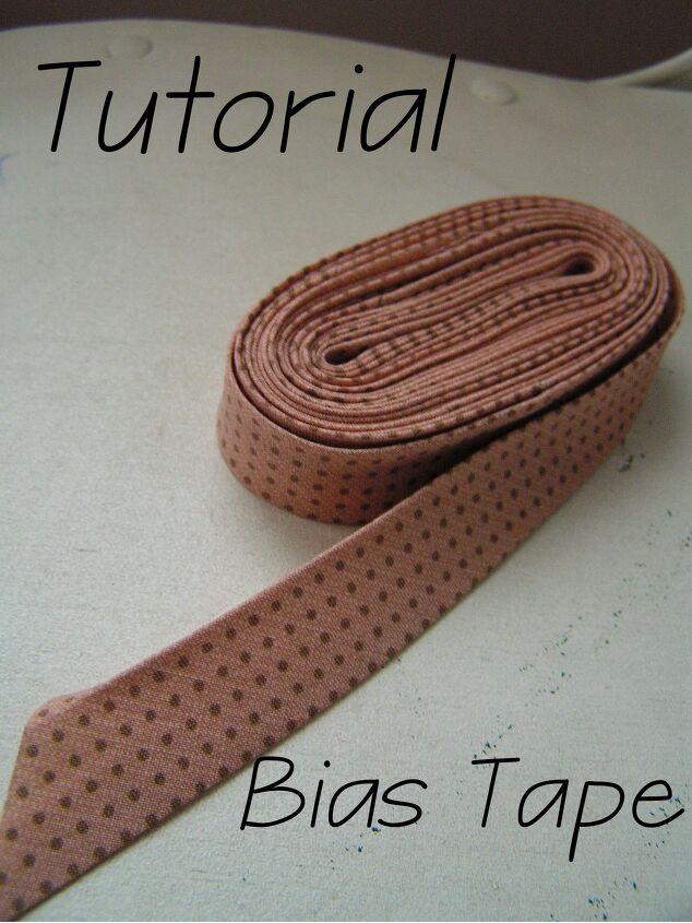 tutorial bias tape