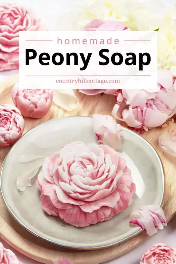 peony soap diy peony hand soap