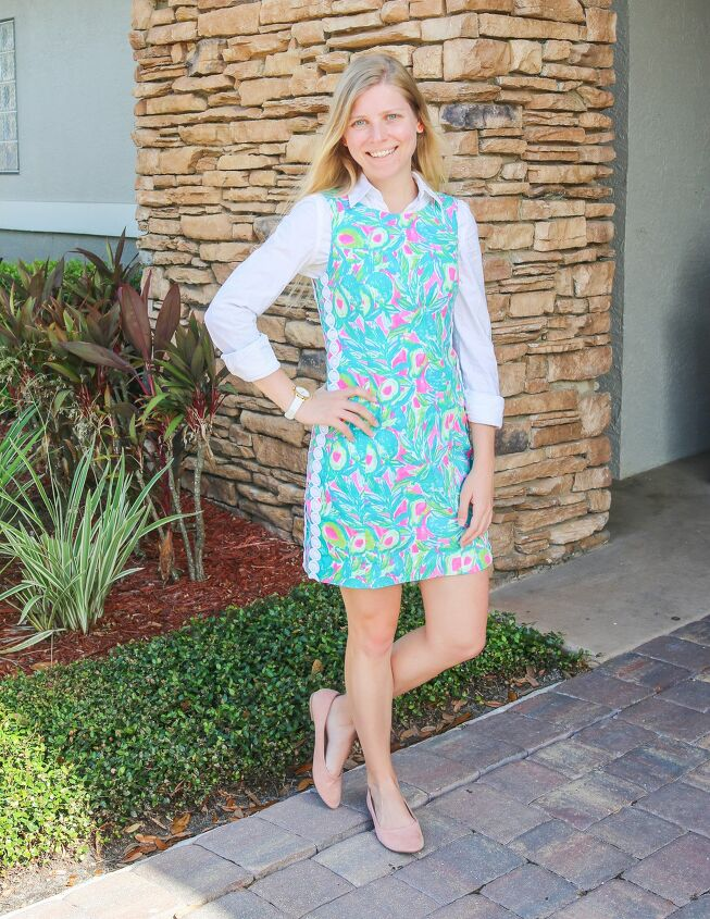how to wear lilly pulitzer in fall