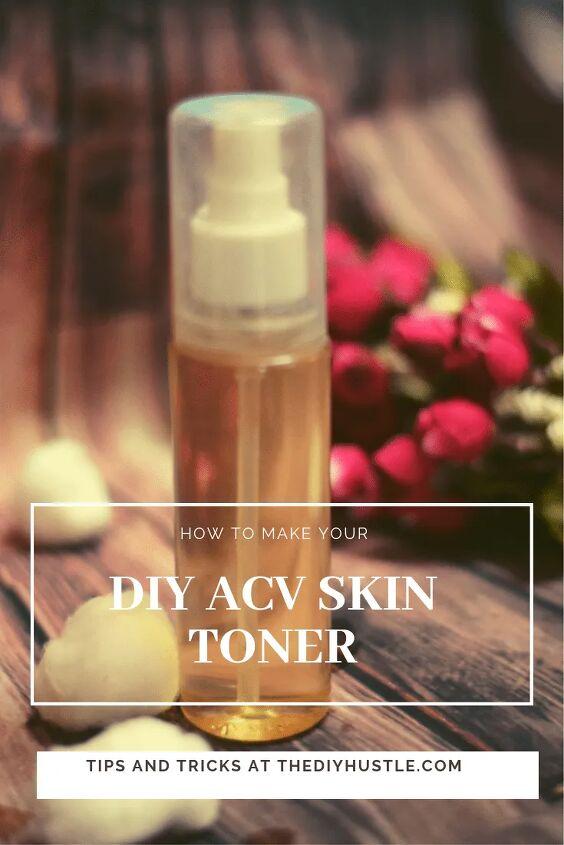 diy acv skin toner secret to crystal clear skin