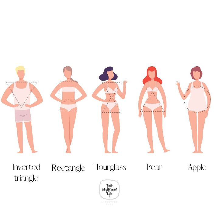 how to determine your body shape without measuring style tips includ
