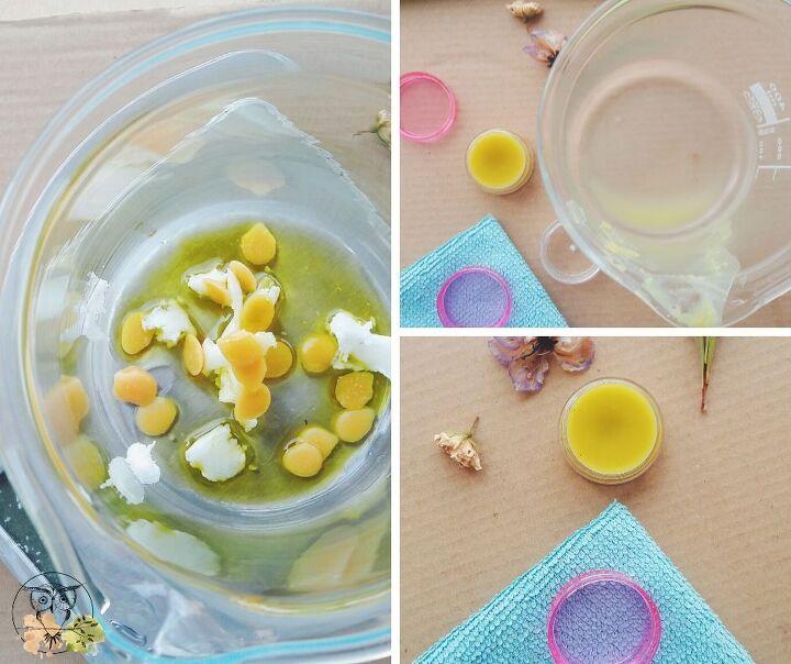 lemongrass hemp seed oil lip balm for dry lips