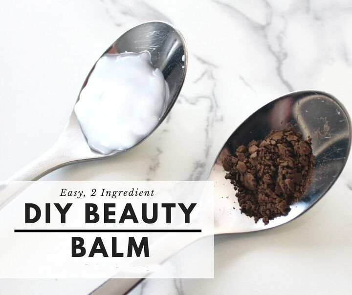 diy beauty balm with just 2 ingredients